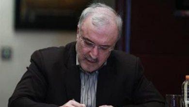 تصویر وزیر بهداشت از حمایت های فولاد مبارکه در کنترل بیماری کویید۱۹ تقدیر کرد