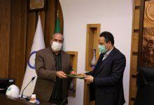 تصویر تقدیر از مدیرعامل شرکت آبفا استان اصفهان در حوزه فرهنگ ایثار،جهاد و شهادت