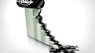 تصویر قیمت نفت خام سقوط کرد