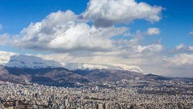 تصویر تهران بعد از ۶ روز آلودگی هوا دوباره نفس کشید
