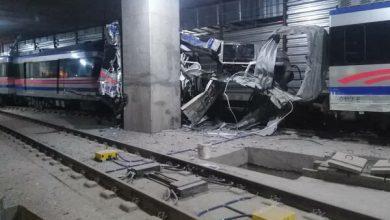 تصویر افتتاح پروژه ناتمام توسط رئیسجمهور و وقوع حادثه خطرناک در تبریز