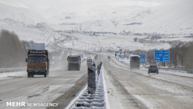 تصویر تردد در تمامی راههای اصلی و فرعی آذربایجانشرقی برقرار است