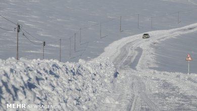 تصویر کولاک راه ارتباطی ۴۰ روستای آذربایجانشرقی را مسدود کرد