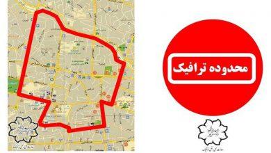تصویر طرح زوج یا فرد و LEZ از امروز در تبریز اجرا میشود