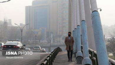 تصویر کرونا بس نبود، آلودگی را هم باید تحمل کنیم