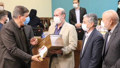 تصویر کسب رتبه اول شرکت توزیع برق اصفهان دربیست و سومین جشنواره شهید رجایی