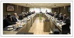 تصویر مدیرعامل فولاد مبارکه در جلسۀ تودیع و معارفۀ مدیر روابط عمومی: