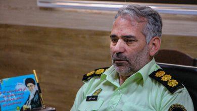 تصویر دستگیری سارق سیم کابلهای برق در اهر