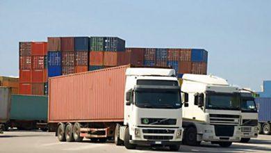 تصویر تردد کامیونهای ایرانی از مرز جلفا و نوردوز افزایش یافت