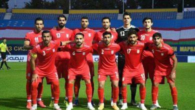 تصویر فوتبال ایران در رده ۲۹ جهان و دوم آسیا ایستاد