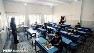 تصویر حضور دانشآموزان در مدارس شهری اهر ممنوع شد
