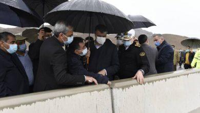 تصویر آزادراه غدیر یکی از ابرپروژههای کشور است