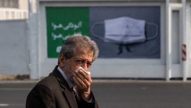 تصویر هوای تبریز برای تمامی گروههای سنی ناسالم شد