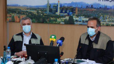 تصویر در نشست خبری مدیران عامل صدرتامین و ذوب آهن اصفهان عنوان شد :