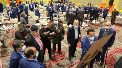 تصویر تجلیل از پیشکسوتان صنعت آبفای استان اصفهان