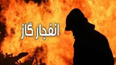 تصویر انفجار گاز در یک واحد مسکونی در اهر ۲ مصدوم برجای گذاشت