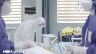 تصویر فوت یک بیمار مبتلا به کرونا انگلیسی در هشترود