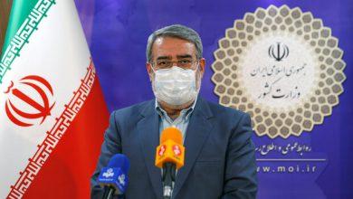 تصویر وزیر کشور دستور آغاز انتخابات میاندورهای مجلس را صادر کرد