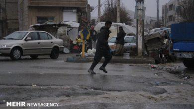 تصویر ورود سامانه بارشی به کشور/ بارش ها از غرب و شمال غرب آغاز می شود