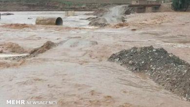 تصویر هشدار درباره احتمال وقوع سیل در آذربایجان شرقی
