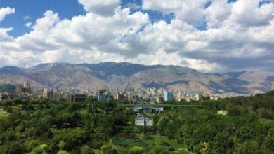 تصویر کیفیت هوای پایتخت افزایش یافت/ هوا سالم است