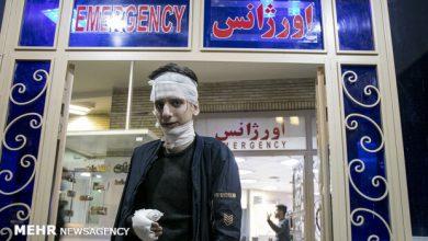 تصویر مصدومیت ۱۸۹۴ نفر در چهارشنبه سوری ۹۹/ ۵۲۷ نفر آسیب چشمی و ۹ فوتی