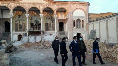 تصویر تسهیل روند مرمت و احیا خانه سرخه ای تبریز با مشارکت صندوق کارآفرینی امید آذربایجان شرقی
