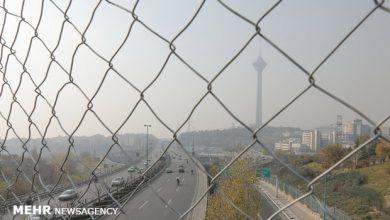 تصویر پایتخت از ابتدای سال تا کنون تنها ۲ روز هوای پاک داشته است