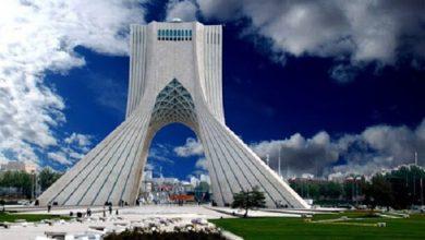 تصویر هوای تهران در نیمه فروردین ماه سالم است