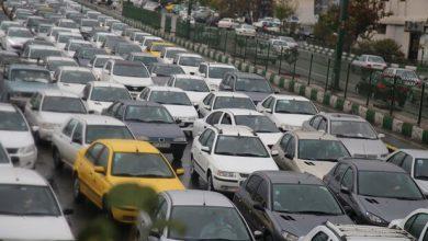تصویر آخرین وضعیت ترافیکی معابر پایتخت