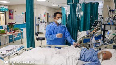 تصویر فوت ۳۰۴ بیمار کرونایی در ۲۴ ساعت/شناسایی ۲۵۵۸۲ مبتلای جدید
