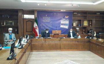 تصویر با ویدئو کنفرانس وزیر نیرو؛
