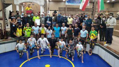تصویر همزمان با سالروز تشکیل بسیج ورزشکاران از رییس بسیج ورزشکاران شهرستان خمینی شهر تقدیر شد.