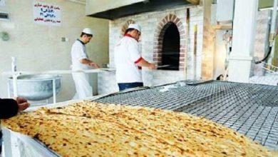 تصویر پلمب ۱۰ واحد نانوایی به دلیل تخلفات مکرر در شهرستان اهر