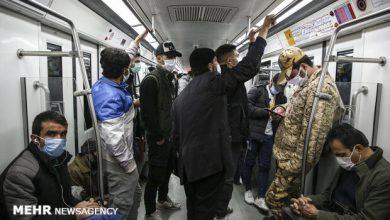 تصویر آمادگی مترو تهران برای طرح سراسری واکسیناسیون کرونا