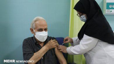 تصویر ۹۰ هزار نفر در آذربایجانشرقی علیه کرونا واکسینه شدند
