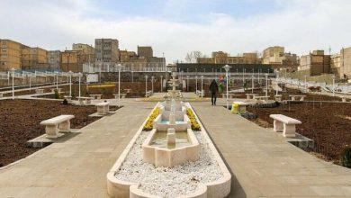 تصویر پارک محلهای در تبریز به نام ملامحمد فضولی نامگذاری شد