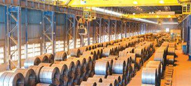 تصویر پشتیبانی از تولید با دستیابی به رکورد روزانه ۵۱۲۳ تن کلاف گرم در مجتمع فولاد سبا