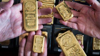 تصویر قیمت جهانی طلا افزایش یافت