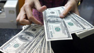 تصویر نرخ رسمی ۲۳ ارز کاهش یافت