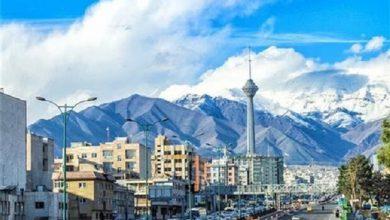 تصویر هوای تهران مطلوب است/ کاهش غلظت آلایندهها