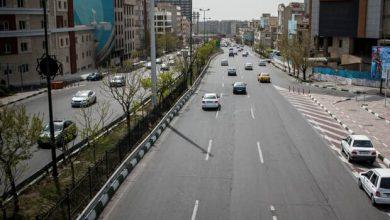 تصویر وضعیت ترافیکی معابر پایتخت/فریب خیابان های خلوت را نخورید