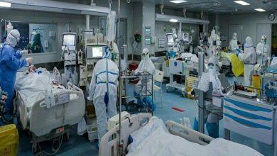 تصویر ۱۵۳ بیمار کرونا جان خود را از دست دادند