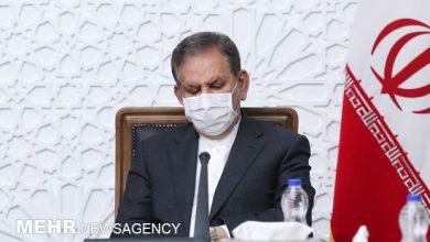 تصویر جهانگیری با رئیسجمهور منتخب دیدار کرد
