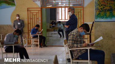 تصویر گزارش تخلفات کرونایی امتحانات نهایی دانش آموزان