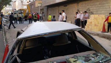 تصویر انفجار گاز در تبریز یک کشته و دو مصدوم برجای گذاشت