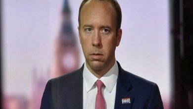 تصویر وزیر بهداشت انگلیس از سمتش استعفا داد