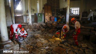 تصویر وقوع ۳۸ زلزله با قدرت بیش از ۲.۵ ریشتر در کشور طی هفته گذشته