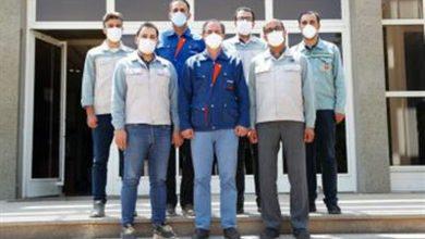 تصویر با همت متخصصان فولاد مبارکه محقق شد: