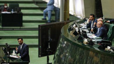 تصویر «آذری جهرمی» از مجلس کارت زرد گرفت